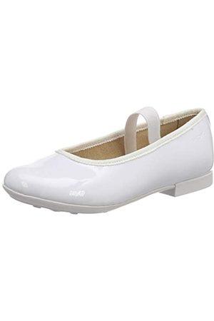Geox JR Plie' D, Bailarinas para Niñas, (White C1000)
