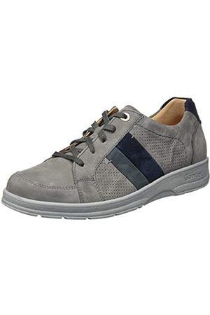 Ganter Hugo-h, Zapatos de Cordones Derby para Hombre, (Graphite/Blue 6332)