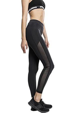 Urban classics Ladies Tech Mesh Stripe, Leggings para Mujer