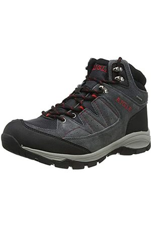 Aigle Vedur Mtd, Zapatos de High Rise Senderismo para Hombre, (Mid Grey/Rouge 001)