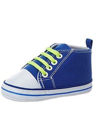 Playshoes Primeros Zapatos Cordones, Zapatillas Casual Unisex bebé, (Blau 7)