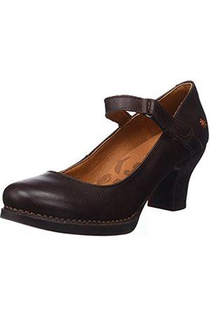 Art Harlem, Zapatos de tacón con Punta Cerrada para Mujer, (Brown Brown)
