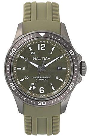 Nautica RelojAnalogicoparaHombredeCuarzoconCorreaenSiliconaNAPFRB003