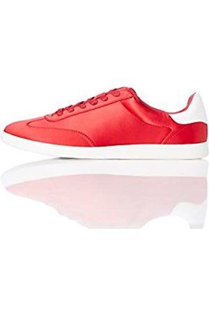 FIND Zapatillas Deportivas Retro para Mujer, (Red)
