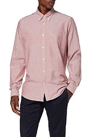 FIND Regular Oxford Camicia, Oro (Rost)