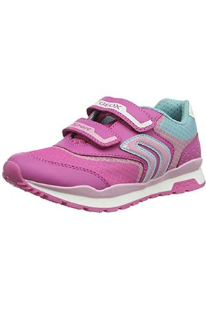 Geox J Pavel Girl A, Zapatillas para Niñas, (Fuchsia/Pink C8230)