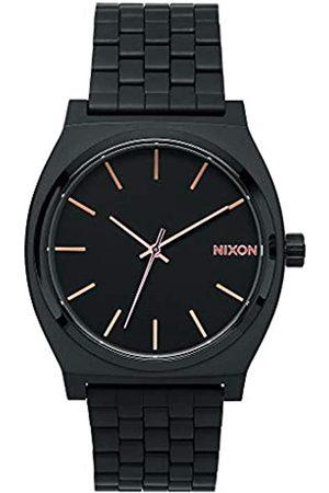 Nixon Reloj Analógico para Unisex Adultos de Cuarzo con Correa en Acero Inoxidable A045-957-00