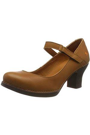 Art Harlem, Zapatos de tacón con Punta Cerrada para Mujer, (Cuero Cuero)