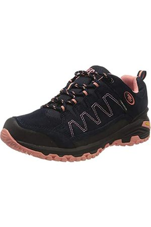 Bruetting Mount Nansen, Zapatos de Low Rise Senderismo para Mujer, (Marine/Lachs Marine/Lachs)