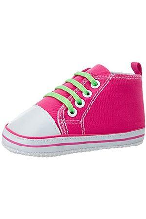 Playshoes Primeros Zapatos Neon, Zapatillas Casual Unisex bebé, (Pink 18)