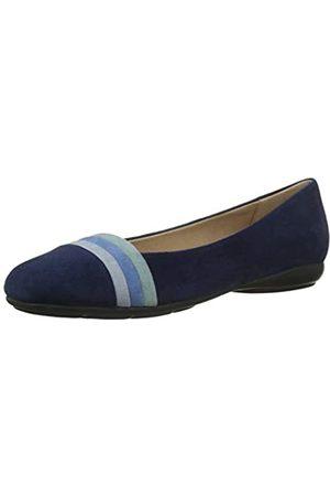 Geox D Annytah a, Bailarinas para Mujer, Blue/AVI O C0226