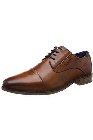 Bugatti 311251061100, Zapatos de Cordones Derby para Hombre, (Cognac 6300)