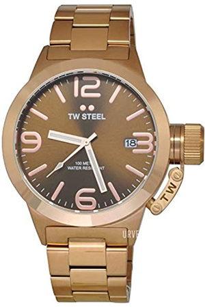 TW steel TWSteelRelojAnalógicoparaHombredeCuarzoconCorreaenAceroInoxidableTWCB191