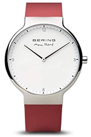 Bering RelojAnalogicoparaMujerdeCuarzoconCorreaenSilicona15540-500