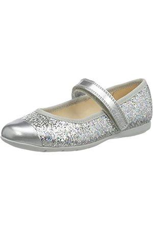 Clarks Dance Tap T, Bailarinas para Niñas, Silver Synthetic