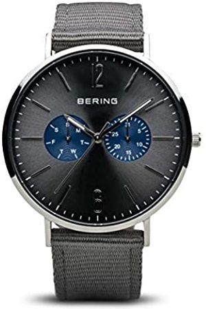 Bering Reloj Analogico para Hombre de Cuarzo con Correa en Cuero 14240-803