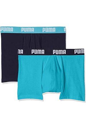 Puma Basic 2P Boxer, Hombre, Aqua/Blue