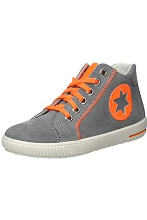 Superfit Moppy, Zapatillas para Bebés, (Hellgrau/Orange 25)
