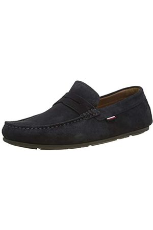 Tommy Hilfiger Classic Suede Penny Loafer, Mocasines para Hombre, (Desert Sky Dw5)