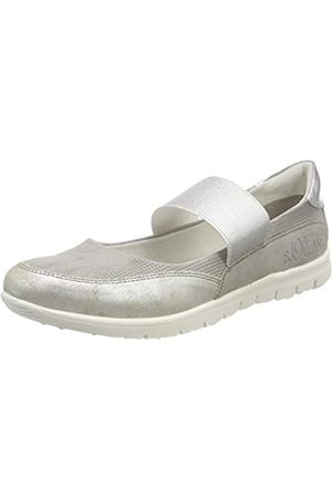 s.Oliver 24617, Mary Jane para Mujer, (Grey Comb)
