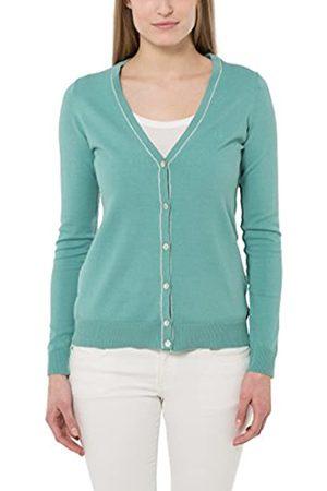 Berydale Cárdigan para mujer, chaqueta de punto con botonadura en suaves colores veraniegos, Turquesa