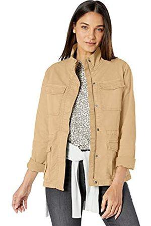 Goodthreads Cargo Jacket Cotton-Lightweight-Jackets, Bronceado