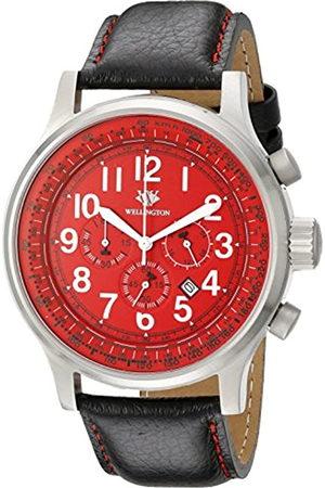 Daniel Wellington Hombre Reloj de Cuarzo con cronógrafo y Pulsera de Acero Inoxidable WN302 – 142