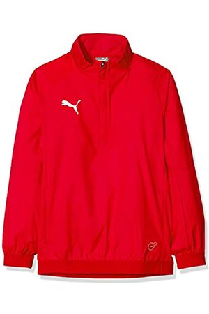 Puma Liga Training Windbreaker Jr Chaqueta de Entrenamiento, Unisex niños, Red/White