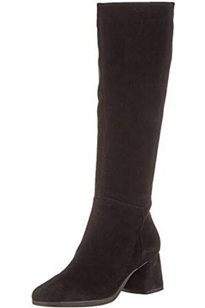 Geox D Calinda Mid C, Botas Altas para Mujer, (Black C9999)