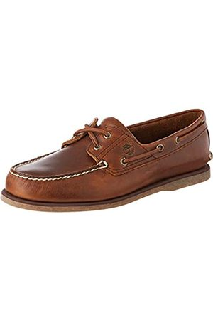 Timberland Classic 2 Eye, Náuticos para Hombre, (MD Brown/Full Grain)