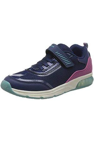 Geox J Spaceclub Girl C, Zapatillas para Niñas, (Navy C4002)