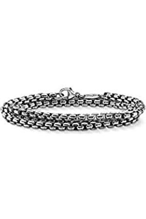 Thomas Sabo Collar cadena Hombre plata - KE1110-001-12-L53