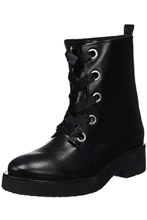 Mamatayoe Lazzareschi, Botines para Mujer, (Black Real Leather)