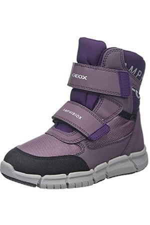 Geox J FLEXYPER Girl B ABX A, Botas de Nieve para Niñas, Morado (Lt Prune/Purple C8UG8)