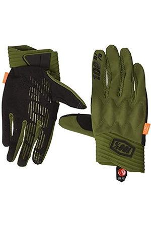 100 Percent Cognito 100% Glove Army Green/Black LG Guantes para ocasión Especial