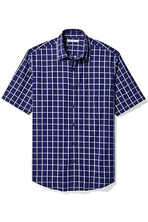 Amazon Regular-Fit Short-Sleeve Plaid Shirt Camisa