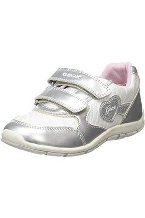 Geox B Shaax A, Zapatillas para Bebés, (Silver C1007)