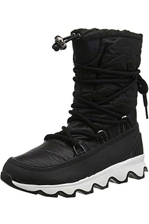 sorel Kinetic Boot, Botas para Mujer, (Black/White 010)