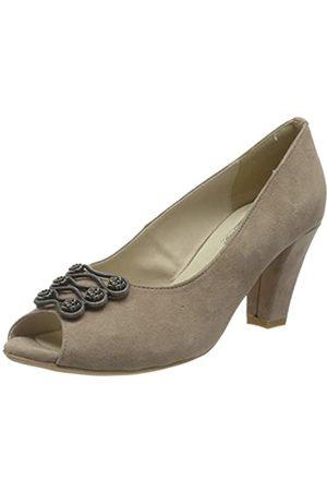 Hirschkogel by Andrea Conti 3007803, Zapatos de tacón con Punta Abierta para Mujer, (Taupe 066)