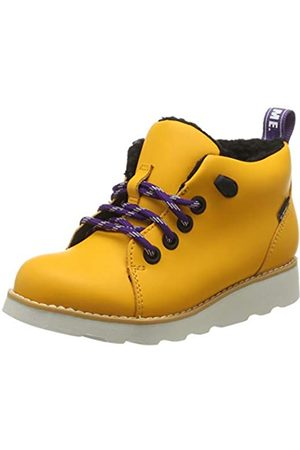 Clarks Crown Tor K, Botas Clasicas para Niños, (Yellow Leather Yellow Leather)