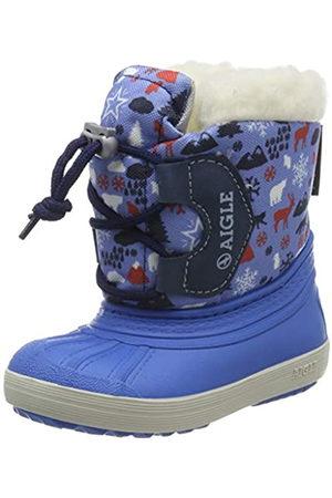 Aigle Nervei Junior, Botas de Nieve Unisex Niños, (Snowy 001)