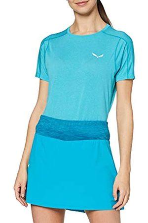 Salewa Pedroc Hybrid 2 Dry W S/S Camiseta, Mujer