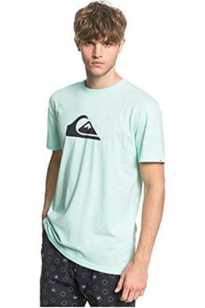 Quiksilver Comp Logo-Camiseta para Hombre Screen tee