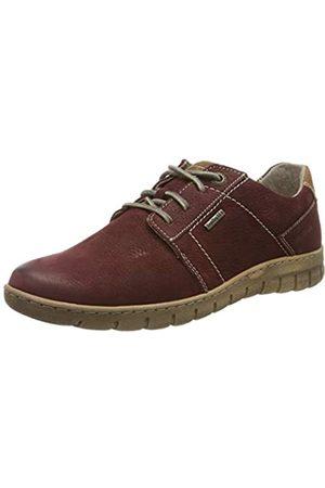 Josef Seibel Steffi 59, Zapatos de Cordones Derby para Mujer, (Bordo-Kombi 411)