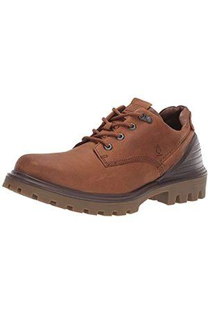 Ecco Tred Tray M, Zapatos de Cordones Derby para Hombre, (Amber/Cocoa Brown 50146)