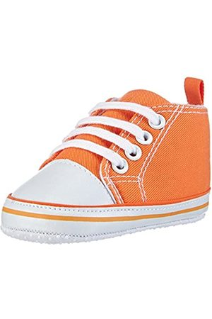 Playshoes Primeros Zapatos, Zapatillas Casual Unisex bebé, (Orange 39)