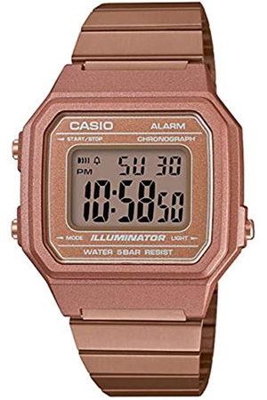 Casio RelojDigitalparaHombredeCuarzoconCorreaenAceroInoxidableB650WC-5AEF