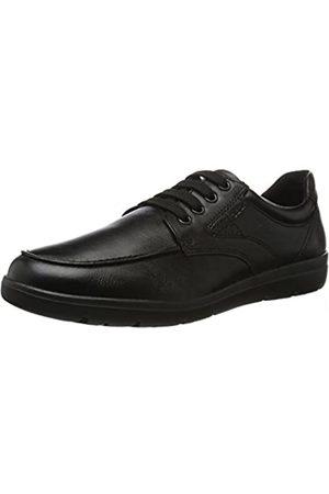 Geox U Leitan B, Mocasines para Hombre, (Black)