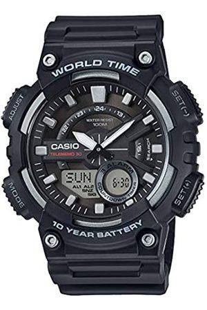 Casio Reloj Analogico-Digital para Hombre de Cuarzo con Correa en Resina AEQ-110W-1AVEF