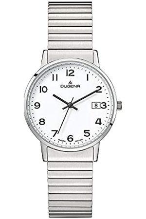 DUGENA RelojAnalogicoparaMujerdeCuarzoconCorreaenAceroInoxidable4460752